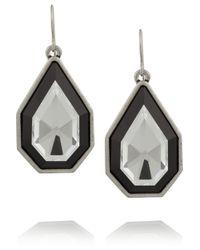 Lulu Frost | Metallic Galactic Silver-Tone Crystal Earrings | Lyst