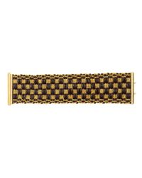 Carolina Bucci - Metallic 18k Gold Thread and Leather Bracelet - Lyst