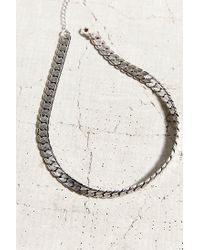 Urban Outfitters | Metallic Halsey Street Choker Necklace | Lyst