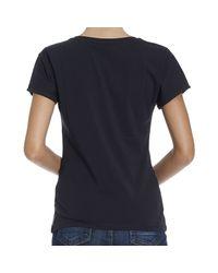 Armani Jeans | Blue T-shirt | Lyst