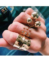 DANNIJO | Metallic Luke Ring | Lyst