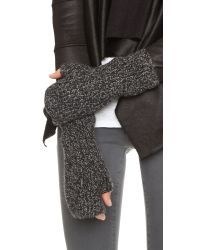 Club Monaco | Jayna Gloves - Black Tweed | Lyst