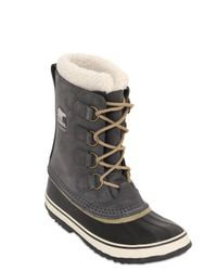 Sorel | Gray 1964 Pac Leather Boots | Lyst