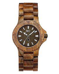WeWood - Natural Date Beige/brown Watch - Lyst