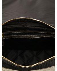 Moncler - Metallic Quilted Shoulder Bag - Lyst