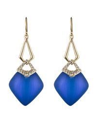 Alexis Bittar - Blue Encrusted Infinity Link Earring You Might Also Like - Lyst
