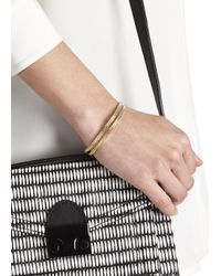 Marc By Marc Jacobs   Metallic Black And Gold Tone Friendship Bracelet   Lyst