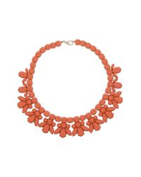 TOPSHOP | Orange Jelly Plastic Necklace | Lyst