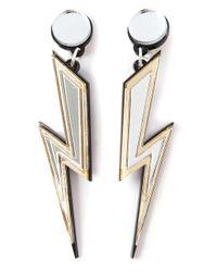 Yazbukey - Metallic Storm Earrings - Lyst