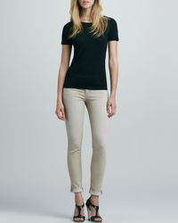 Jeunesse - Gray Bailey 150 Wears Rolled Skinny Jeans Sand 28 - Lyst