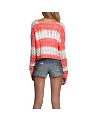 Abercrombie & Fitch - Pink Katrina Sweater - Lyst