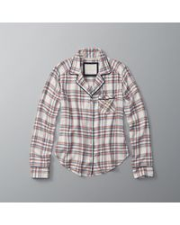 Abercrombie & Fitch | Multicolor Patterned Sleep Top | Lyst
