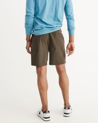Abercrombie & Fitch - Green Sport Nylon Shorts for Men - Lyst