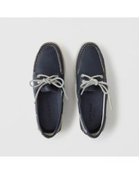 Abercrombie & Fitch - Blue Sperry Boat Shoes - Lyst
