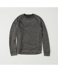 Abercrombie & Fitch - Gray Sport Sweater Fleece Crew Exchange Color / Size for Men - Lyst