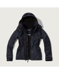 Abercrombie & Fitch - Blue A&f All-season Weather Warrior Jacket - Lyst