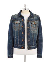 Superdry | Blue Dirt Copper Denim Jacket for Men | Lyst