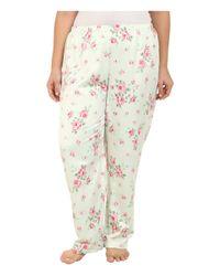 Carole Hochman   Green Plus Size Packaged Brush Back Satin Pajama   Lyst