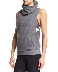 Alo Yoga - Gray Frost Winter Sleeveless Sport Sweater - Lyst