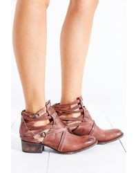 Freebird by Steven - Brown Stair Ankle Boot - Lyst