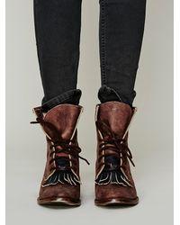 Free People - Brown Brimfield Boot - Lyst