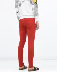 Zara | Red Label Trousers for Men | Lyst