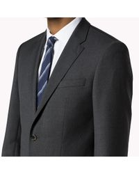 Tommy Hilfiger - Gray Suit Separate Fitted Blazer for Men - Lyst