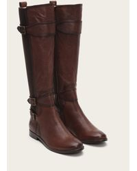Frye | Brown Anna Gore Tall | Lyst