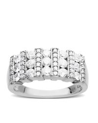 Lord & Taylor | Diamond Ring In 14 Kt. White Gold | Lyst
