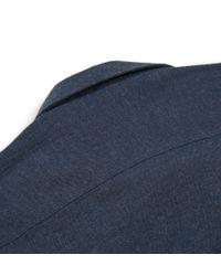 Sunspel | Blue Men's Italian Cotton Flannel Shirt for Men | Lyst