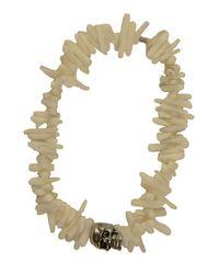 Duchess Of Malfi | White Coral Shell Skull Bracelet | Lyst