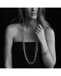 David Yurman - Metallic Box Chain Eight-row Bracelet - Lyst