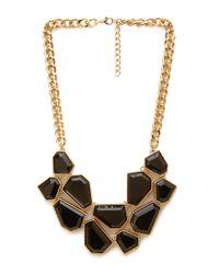 Forever 21 - Metallic Jigsaw Bib Necklace - Lyst