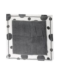 Kris Van Assche - Black Square Scarf for Men - Lyst
