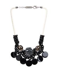 Weekend by Maxmara | Black Tema Necklace | Lyst