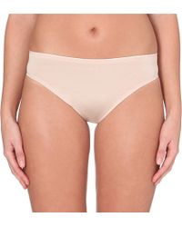 Chantelle | Brown Irresistible Brazilian Briefs | Lyst