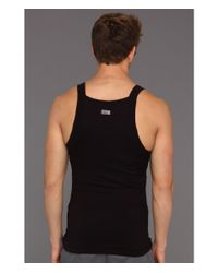 2xist | Black Shape:form Slimming Square Cut Tank for Men | Lyst