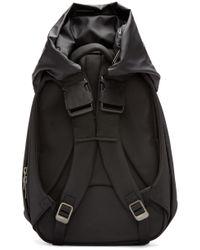 Côte&Ciel - Black Coated Obsidian Nile Backpack - Lyst