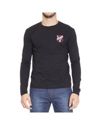Versus - Black T-shirt for Men - Lyst