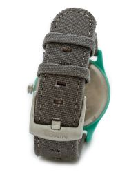 Nixon - Mod Acetate Watch - Light Blue/Grey - Lyst