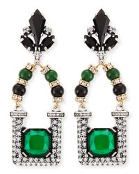 Lulu Frost - Green Future Drop Earrings - Lyst