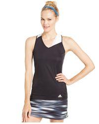 Adidas | Black Response Climacool® Tennis Tank Top | Lyst