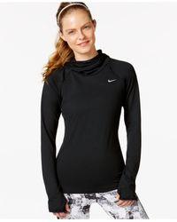 Nike | Black Element Dri-fit Pullover Hoodie | Lyst