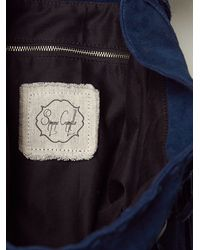 Free People - Blue Harlow Backpack - Lyst