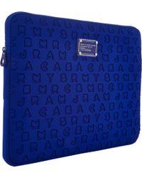 Marc Jacobs - Blue Dreamy Logo 15 Computer Case - Lyst