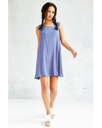 Lucca Couture - Blue Swingy Shift Dress - Lyst