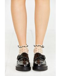 Urban Outfitters - Black Monk Strap Platform Shoe - Lyst