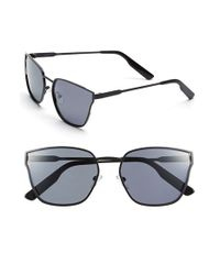 Jason Wu | Black 'torri' 55mm Metal Sunglasses | Lyst