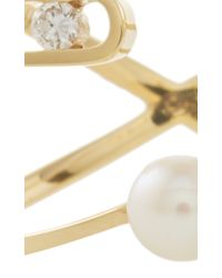 Ruifier - Metallic Premiere Diamond Paola Ring - Lyst