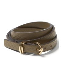 Banana Republic | Green Leather Triple-wrap Bracelet | Lyst
